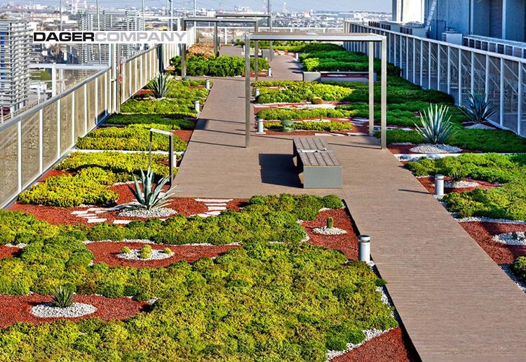 Techos verdes jardines en terrazas dager company for Jardines verdes